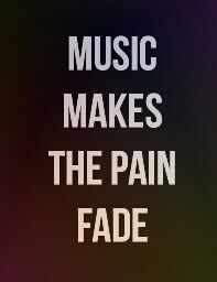 Many people don't realize that music is a power.  It can change you're feelings with one word or sentence.  Music can make a person happy, sad, cry, or dance the night away.  Plus, it's like another world we enter when we want to escape this one.
