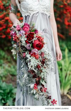 """""""A shoot that is both feminine & soft but also bold & strong - reflecting the beauty of an opulent french country wedding."""""""
