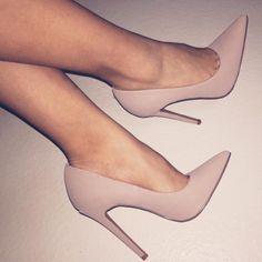Eva in Beige by Lolashoetique - Heels
