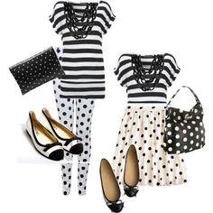 Black & White: Stripes & Polka Dots