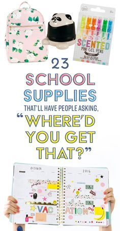Back-to-school shopping is the most wonderful time of the year.