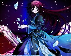 1280x1024 Wallpaper pandora hearts, girl, dress, shards