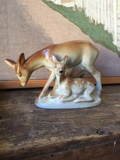 Your place to buy and sell all things handmade I Shop, My Etsy Shop, Make You Smile, Garden Sculpture, Deer, Vintage Items, German, Buy And Sell, Pottery