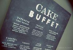 A cake buffet.
