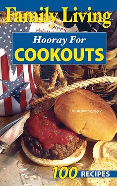 Leisure Arts - Family Living: Hooray for Cookouts, $1.00 (http://www.leisurearts.com/products/family-living-hooray-for-cookouts.html)
