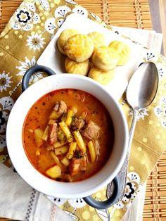 Palócleves – ahogy én készítem   A tetovált lány konyhája Lany, Chana Masala, Soup Recipes, Soups, Ethnic Recipes, Food, Essen, Soup, Meals