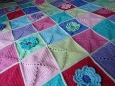 Dinki Dots Craft: Waterlily Blanket