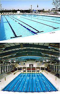 existen varios tipos de piscinas olmpicas y debemos sealar que stas pueden ser