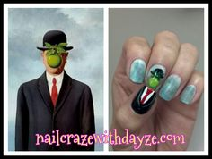 Nail Craze with Dayze: 31 Day Challenge: Day 27 Inspired by Artwork
