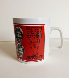 LFC Champions of Europe Mug 1977 & 1978 by LFCcollectables on Etsy