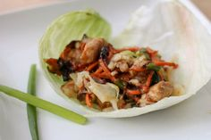 Mu Shu Pork Lettuce Wraps by thatssomichelle as adapted from cookinglight #Lettuce_Wraps #Mu_Shu_Pork #Light