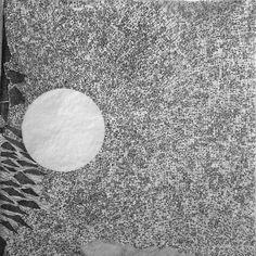 © Fabio Alessandro FUSCO. Analogous Venice   Panels III - XII   Graphite on tracing paper, 12 panels. 50 cm x 50 cm (each), 200 cm x 150 cm (overall)