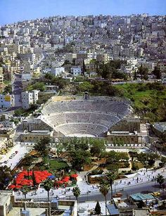 So I've already been here, but it was so beautiful that I'd go again!! Roman Amphitheatre in Amman, Jordan