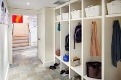 Locker design and flooring