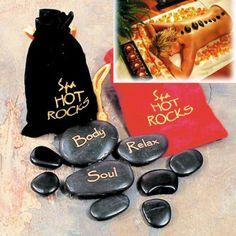 Des galets de massage spa, pour être zen et détendue le jour de la Saint Valentin !