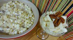 Ensalada Dulce de Manzanas y Bombones