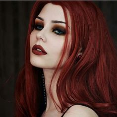 Dayana .. @dayanacrunk #gothic #dark #gothicmakeup #vampire