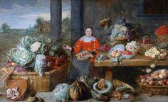 BBC - Your Paintings - A Fruit Stall