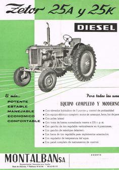 Zetor 25A en 25K Classic Tractor, Retro, Vintage Ads, Cars And Motorcycles, Diesel, Porsche, Monster Trucks, Nostalgia, Vehicles