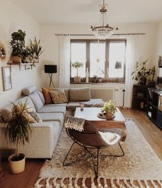 Adorable Perfect Apartment Living Room Decor Ideas On A Budget. - - Adorable Perfect Apartment Living Room Decor Ideas On A Budget. Living Room Furniture Adorable Perfect Apartment Living Room Decor Ideas On A Budget. Boho Living Room, Small Living Rooms, Home And Living, Living Room With Plants, Cozy Living Room Warm, Earthy Living Room, Interior Design Living Room Warm, Living Room Wood Floor, Relaxing Living Rooms