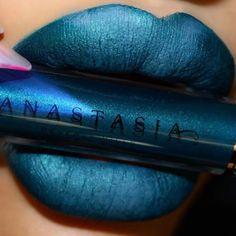 Requiem  liquid lipstick launching 2-14  @arabiiandoll  #anastasiabeverlyhills #abhrequiem