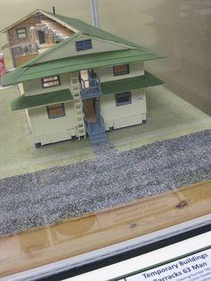 WWII Barracks Model
