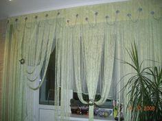 Нитевые шторы в интерьере - Шторы