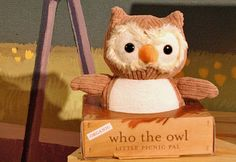 Apple Park's newest Picnic Pal - Who the Owl