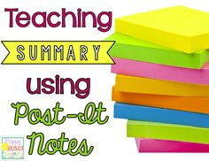 Elementary teaching looking for test prep ideas to help master summary? Check out this reading lesson plan idea!