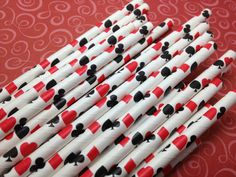 Hey, I found this really awesome Etsy listing at https://www.etsy.com/listing/157240909/casino-paper-straws-poker-party-decor