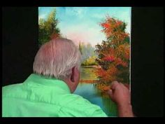 William Bill Alexander paints Fall River part 3/3 wet on wet oil paintin...