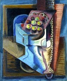 Antonín Procházka: Podnos / 1915 Cubism, Painting, Art, Art Background, Painting Art, Kunst, Paintings, Performing Arts, Painted Canvas