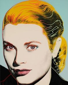 View Grace Kelly by Andy Warhol on artnet. Browse more artworks Andy Warhol from OSME Fine Art. Andy Warhol Pop Art, Andy Warhol Prints, Andy Warhol Portraits, Warhol Paintings, Portrait Paintings, Grace Kelly, Jasper Johns, Roy Lichtenstein, Arte Popular