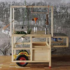 Mobile Gastfreundschaft by Kollectiv Stadtpark. Mobile kitchen