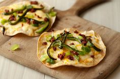 Scallions-and-Poblanos-and-Chorizo Cheese Crisps
