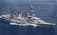 heavy cruiser USS Pensacola