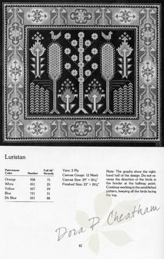 Gallery.ru / Фото #65 - Needlepoint Designs from Oriental Rugs - Dora2012