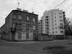 Targówek, połączenie starego z nowym. Świetne zdjęcie z http://warszawa78.blox.pl