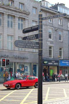 Union Street junction with Market Street, Aberdeen, Scotland Aberdeen Scotland, Granite City, Scottish Gaelic, Uk Holidays, Kingdom Of Great Britain, Tourist Information, Places Of Interest, British Isles, Northern Ireland