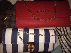 Wallets. Nautical ⚓️⚓️& red ⭕️