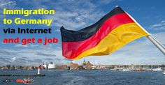 Immigration to Germany via the Internet and get a job If you are over 18 years of age and you are a little familiar with German, you wa. Immigration To Germany, Work Travel, Ocean, Building, Internet, Study, Sign, Germany, Law