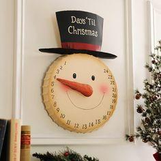 Countdown to Christmas Snowman