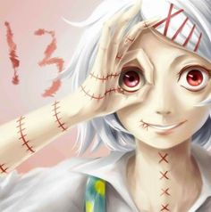 Very beautiful art of Juuzou ♥♥ @DaraenSuzu
