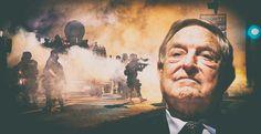 Giorgetto Soros cerca la guerra civile in America.