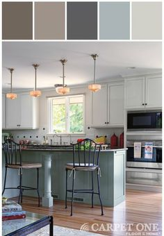 Colourful Kitchen Inspirationgeneral Paint Colours Shown Touch Wood Cl 3266a Tornado 3264d