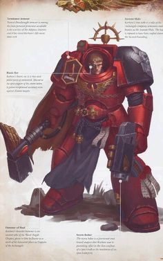 1st Company blood angel company master