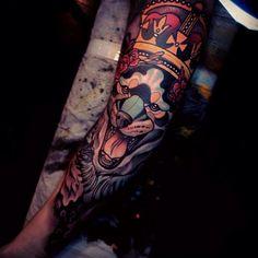 Tattoo by @jake_tattooer   margotmeanie.com   margotmeanie.tumblr.com
