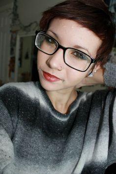 dahlia piercings are cute.