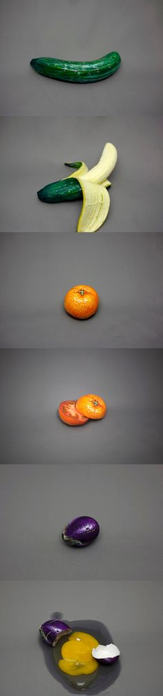 Japanese artist Hikaru Cho messes with our perception in this series, entitled It's Not What It Seems.