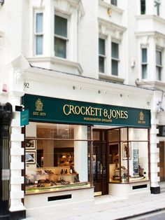Crockett & Jones - Jermyn Street Exterior